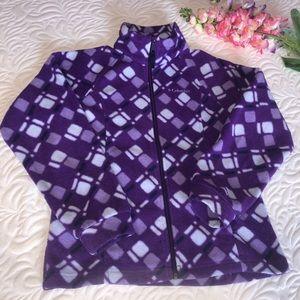 Columbia Fleece Girls Jacket Size:10/12